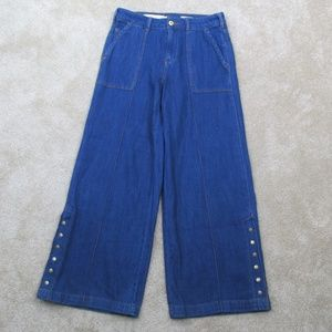 PILCRO & The LETTERPRESS Extra WIDE Leg JEANS  27